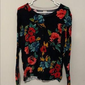 A New Day Floral Cardigan